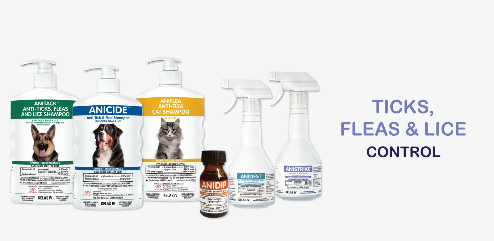 Flea and tick for dogs Malaysia